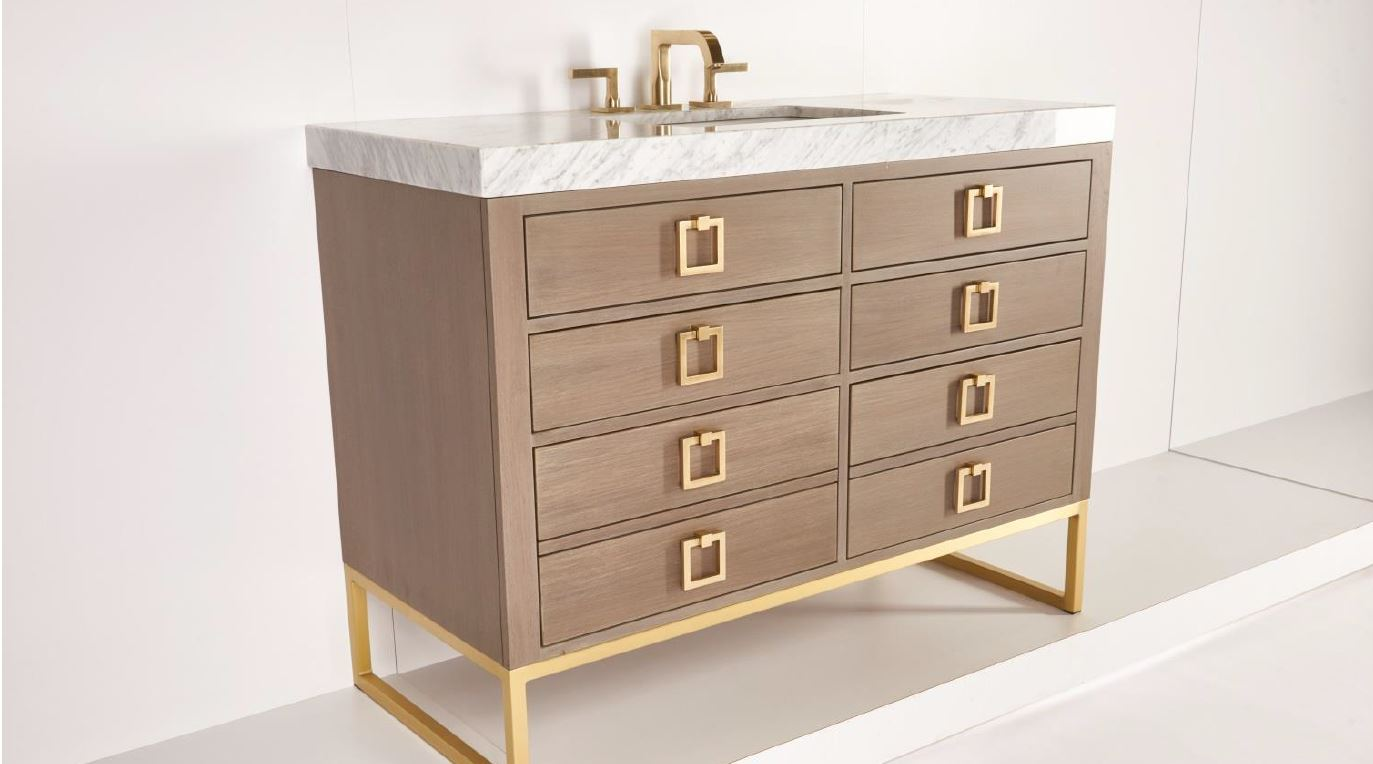 Creative bath sales for Furniture guild bathroom vanities